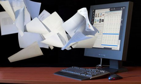 Paperless System At The Broder`s Office