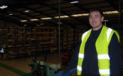 Congratulations To Our Warehouse Supervisor Liam Sykes: Now A Level 3 Team Leader